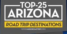 Arizona Travel / Arizona is a wonderfully diverse state, with an abundance of open space and unforgettable scenery…including one of the most famous sights in the world, the awe-inspiring, Grand Canyon. Arizona Travel, for an experience unlike none other.  Check out the top-25 places not to miss when visiting Arizona: http://www.mikesroadtrip.com/arizona-activities-2015-super-bowl/