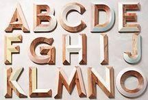 Typografie Logos / In love with Type. Typography branding, logos, illustrations / by Vanessa's Portrait