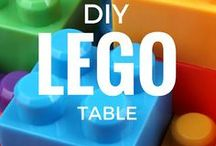 LEGO Ideas! / What to do with all those LEGO bricks and Minifigures! Sort them, play games with them, store them!