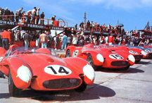 Ferrari 250TR #0704, No.14 at Sebring in 1958 / This board deal with Ferrari 250TR #0704, No.14 at Sebring In 1958 and some related materials for building the scale model.