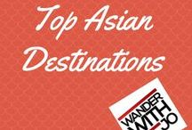 Top Asian Destinations / Asia has such an awesome laid back vibe. In that spirit, let's share our top Asian adventures or bucket list destinations here.  **Only pins related to Asia please** To join this board, follow me and drop a comment on my blog WanderWithJo.com with your pinterest handle. Happy pinning :)