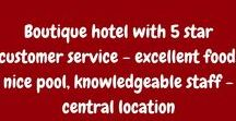 Travel- Hotel Reviews / Reviews of lodgings around the world #travel #hotels #lodging #hotelreviews