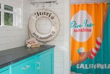 DENY SHOWER CURTAINS / Who says bathrooms can't be fun? Check out over 5,000 designs from over 100 artists. Now the hard part is choosing which one you have to have to your bathroom! http://www.denydesigns.com/collections/shower-curtains-by-artist / by DENY Designs