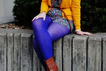 Purple Tights / by Legwear Fashion