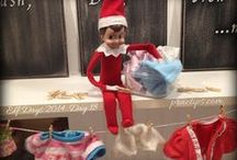 Elf on the Shelf / It's all about the elf...check out my Christmas board too!