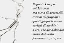 Quotes from Pinocchio / La saggezza dei nostri Pinocchi // Wisdom from our Pinocchio.
