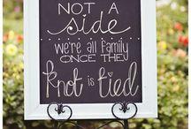 Wedding ceremony & reception ideas / by Jennifer Penosky
