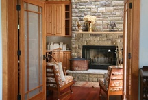 Hot, Hot, Hot Fireplace Designs / Warm your body and soul as today's fireplace designs transform the home's style AND temperature. Is it getting hot in here or it just us??