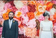 backdrops / wedding photo booth and backdrop inspiration / by Jennifer White Photography