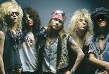 Guns N Roses / The REAL G'N'R, Velvet Revolver, Slash, Myles Kennedy / by Gloria Hanaway