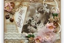 Vintage and Shabby chic Card Ideas