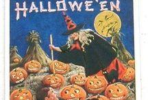 Halloween postcards / by Gloria Hanaway
