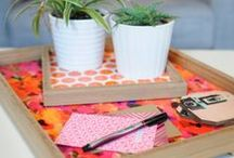 DENY TRAYS / Organize, arrange and serve in style with trays! / by DENY Designs