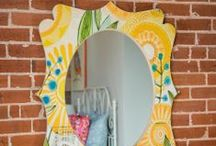 DENY WALL MIRRORS / The most creative wall mirrors for any space! Available in fun shapes and great sizes to make a statement anywhere you please. / by DENY Designs