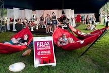 Millennials at Work - Conference Planning - Temporary Lounges and Other Guerrilla Marketing / Temporary Lounges and Other Guerrilla Marketing Techniques for the higher education (college and university setting) and conferences (including expo halls and receptions).