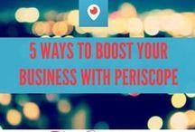 Social Media - Periscope Tips and Tricks / A board dedicated to everything social media, especially Periscope, blogging, tips, tricks for social media managers, bloggers, social media coordinators, professors, millennials, and social media interns.