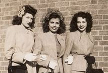 1940s / Fashion, hairstyles, and makeup of the 1940s