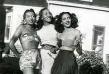 Vintage Ladies of Color / Highlighting the rarer images of vintage women of color