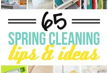 Spring cleaning / Tips & tricks