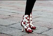 DRESS >> Well Heeled / You're trampling this world, might as well do it in a great pair of shoes.  / by Stylish Thought