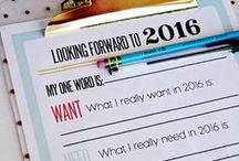 2016 New Year's Goals