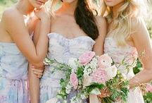 Wedding Bells / Beautiful wedding gowns, bridesmaids dresses and all things wedding! / by The Hunt