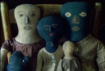 Old rag dolls ♥  / by Mandy Fischer ☆Bittersweetfolkart