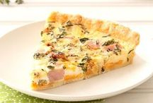 Quiches, Savory Tarts, & Pies / Breakfast, Brunch, Lunch, or a light supper!