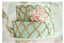 Mint, Pink & Gold Wedding / Gorgeous Wedding with a Antique/Victoria Feel of Mint, Pink and Gold color hues.