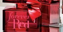 Forever Red / Our Most Luxurious Fragrance Ever!  Available in stores & online NOW!