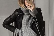 Fashion With An Edge / Think edgy, black, leather and mesh / by The Hunt