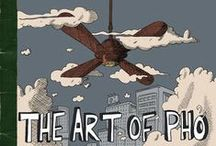 The Art of Pho / The Art of Pho is a graphic novel by Julian Hanshaw. We adapted Julian's beautiful story into an interactive motion comic for the web in 8 episodes. You can check them out (free of course) here:  http://artofpho.submarinechannel.com