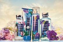 Moonlight Path / Stroll through a lush garden blend of fresh jasmine, blue violets, sheer lavender & soft musk. Same amazing fragrance! Brand NEW look! / by Bath & Body Works