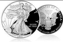 American Silver Eagles Spotlight / Rediscover The American Silver Eagles at www.GainesvilleCoins.com/american-silver-eagles.aspx