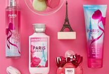 Paris Amour / From Paris, with love! Like a romantic stroll through the City of Love, Paris Amour® is a dreamy blend of French tulips with a pop of pink champagne.  / by Bath & Body Works