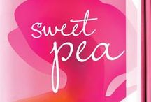 Sweet Pea® / Calling all flirty girls! A bright & optimistic fragrance, Sweet Pea® is an award-winning mix of juicy raspberries & pear kissed by soft pink petals. / by Bath & Body Works