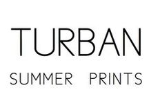 Turban / Summer prints / DONIA ALLEGUE - Parisian House of Turbans Millinery Made in France http://www.doniaallegue.com