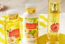 Love & Sunshine / Discover our happiest scent under the sun! / by Bath & Body Works