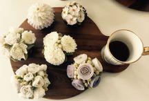 flower cake / flower cake