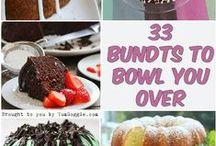 Beautiful Bundts & Bundtlettes / The famous bundt and lesser known small bundt cakes.