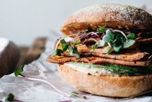 burgers, sandwiches and BBQ / Delicious plant-based burgers, sandwiches and BBQ recipes (vegetarian and vegan)