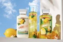 NEW! Sparkling Limoncello / When life hands you lemons ... A refreshing blend of sparkling lemon, sugared mint & fresh verbena. Now in Body Care! / by Bath & Body Works