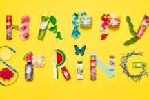 HAPPY SPRING! / Stop & smell the HAPPY! NEW fragrances are blooming at Bath & Body Works! / by Bath & Body Works