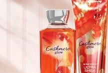 ONLINE EXCLUSIVE: Cashmere Glow / The warmth of vanilla & golden peach layered with luxurious cashmere musk.