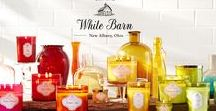 Welcome to White Barn / Introducing a NEW home fragrance experience — now available online! We've been the proud Candle maker for Bath & Body Works for over 20 years. With over 150 stores, we deliver the World's Best candles & beautiful decor nationwide. Now we're excited to bring this experience to BathandBodyWorks.com.