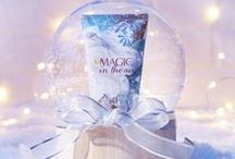 NEW! Magic In The Air / NEW Magic In The Air is a winter wonderland of almond flower, white iris & whipped vanilla! A Soft & Casual fragrance.