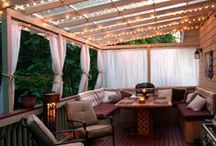Porch/Patio/Outdoor Home Idea's / Everything from fixing it up to decorating our new home! / by Jessica Dick
