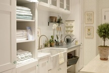 Office/Laundry Room / by Britt Amos