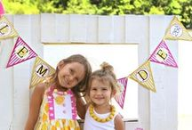 Pink Lemonade Party Ideas / by Tea Party Designs