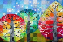 Quilting & Fabric II ~ art quilts / Quilting and art quilts, landscape / by Mary